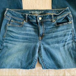 American Eagle Kick Bootcut Jeans Size 18 Long